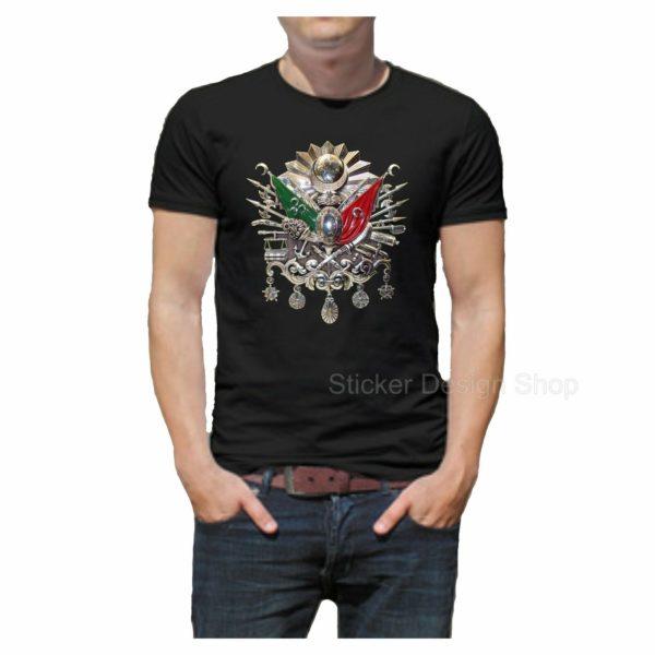 Osmanli-Armasi-T-Shirt-Druck-Baumwolle-Fruit-of-The-Loom-Tuerkiye-Istanbul-Tugra-391710315470